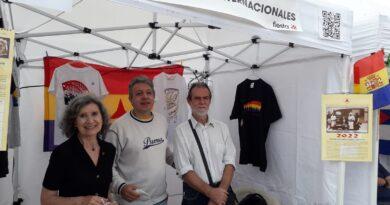 La Asociación de Amigos de las Brigadas Internacionales vuelve a estar presente en la fiesta del PCE.